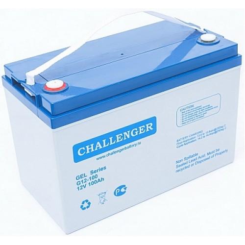 AGM аккумулятор Challenger: 12В-86А/ч (С5)