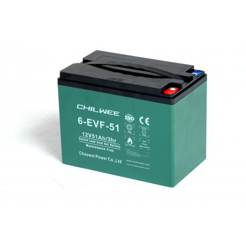 GEL аккумулятор CHILWEE: 12В-55А/ч (С5)