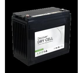 AGM (Dry Cell)  аккумулятор Discover: 12В-130А/ч (С5)