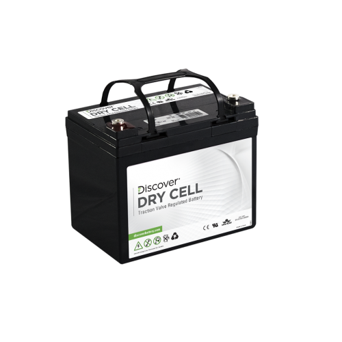 AGM (Dry Cell)  аккумулятор Discover: 12В-28А/ч (С5)