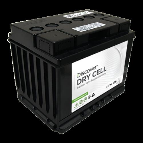AGM (Dry Cell)  аккумулятор Discover: 12В-50А/ч (С5)