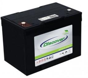 AGM (Dry Cell)  аккумулятор Discover: 12В-55А/ч (С5)