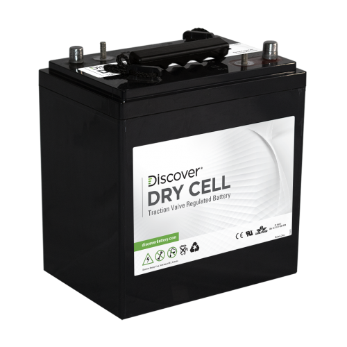 AGM (Dry Cell)  аккумулятор Discover: 6В-222А/ч (С5)