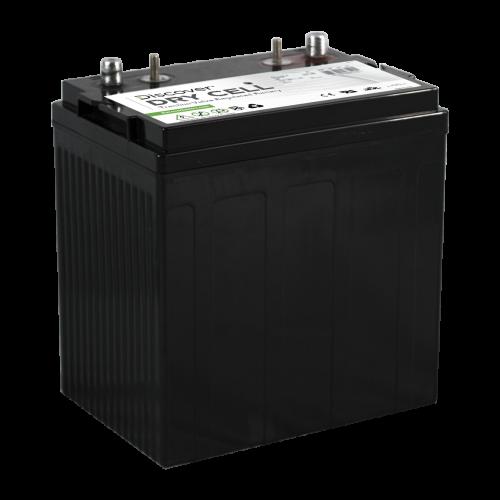 AGM (Dry Cell)  аккумулятор Discover: 8В-130А/ч (С5)