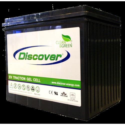 GEL аккумулятор Discover: 12В-63А/ч (С5)