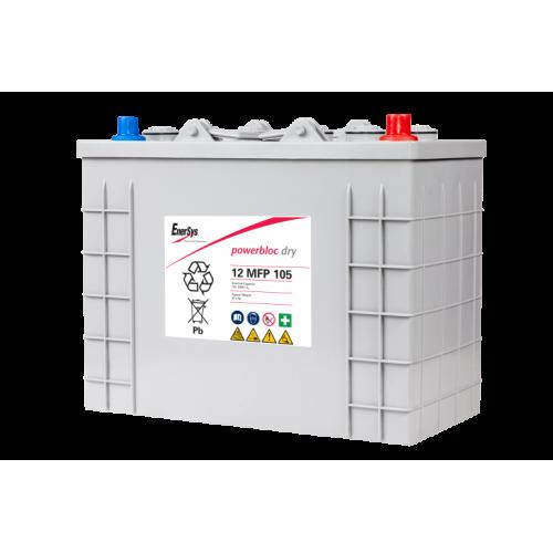 GEL аккумулятор PowerBloc: 12В-105А/ч (С5)