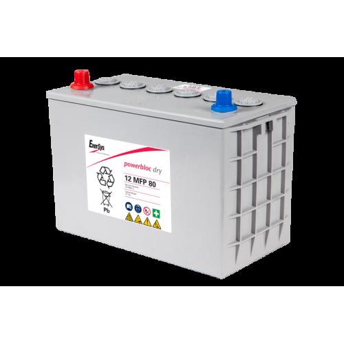 GEL аккумулятор PowerBloc: 12В-80А/ч (С5)