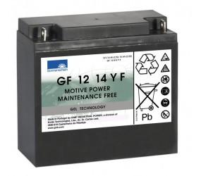 GEL аккумулятор Sonnenschein: 12В-14А/ч (С5)