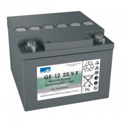 GEL аккумулятор Sonnenschein: 12В-22А/ч (С5)