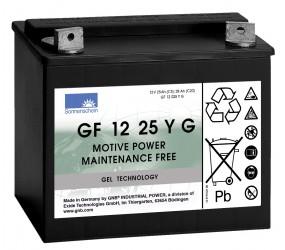 GEL аккумулятор Sonnenschein: 12В-25А/ч (С5)