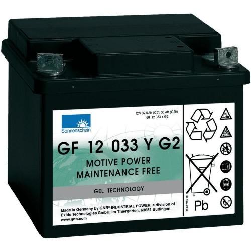 GEL аккумулятор Sonnenschein: 12В-33А/ч (С5)