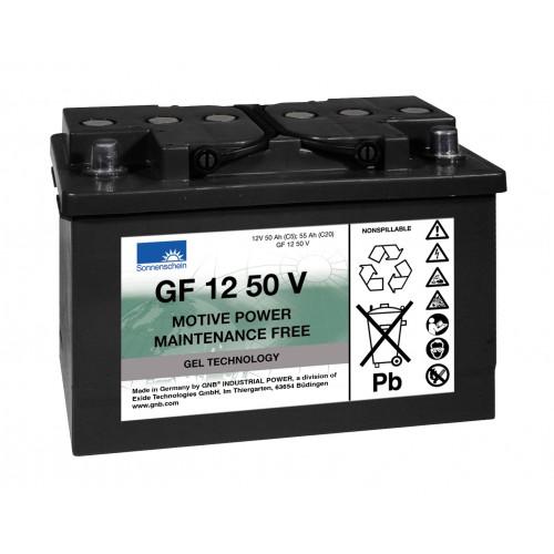 GEL аккумулятор Sonnenschein: 12В-50А/ч (С5)