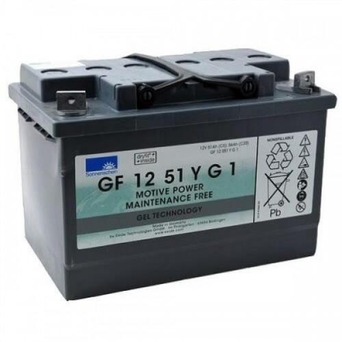GEL аккумулятор Sonnenschein: 12В-51А/ч (С5)