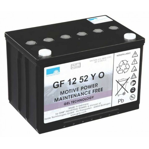 GEL аккумулятор Sonnenschein: 12В-52А/ч (С5)