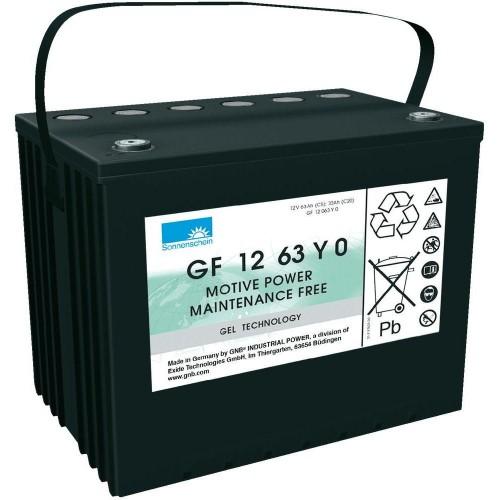 GEL аккумулятор Sonnenschein: 12В-63А/ч (С5)