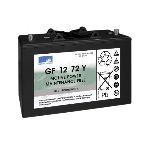 GEL аккумулятор Sonnenschein: 12В-72А/ч (С5)