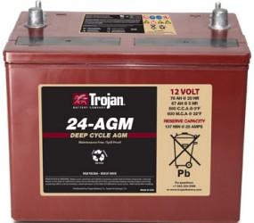 AGM аккумулятор Trojan: 12В-67А/ч (С5)