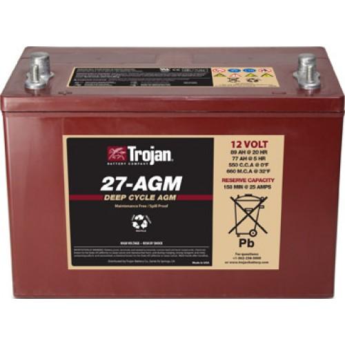 AGM аккумулятор Trojan: 12В-77А/ч (С5)