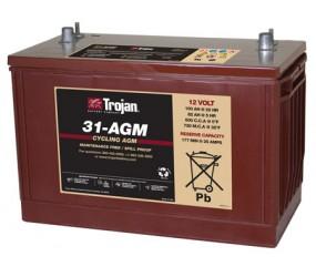 AGM аккумулятор Trojan: 12В-82А/ч (С5)