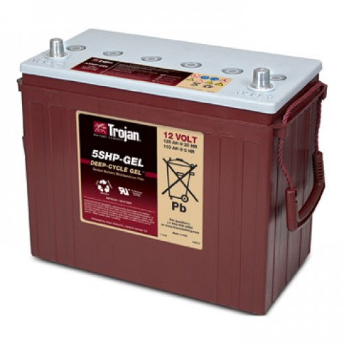 GEL аккумулятор Trojan: 12В-110А/ч (С5)