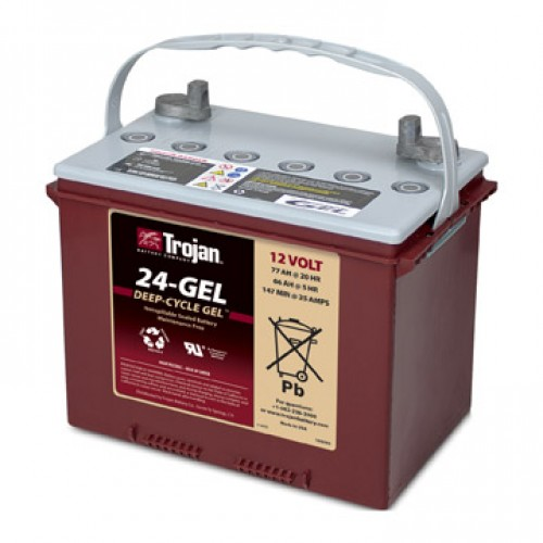 GEL аккумулятор Trojan: 12В-66А/ч (С5)