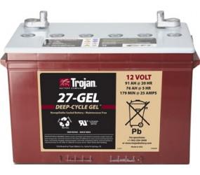 GEL аккумулятор Trojan: 12В-76А/ч (С5)