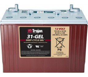 GEL аккумулятор Trojan: 12В-85А/ч (С5)