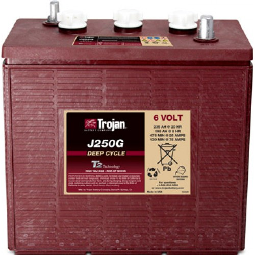 WET аккумулятор Trojan: 6В-195А/ч (С5)