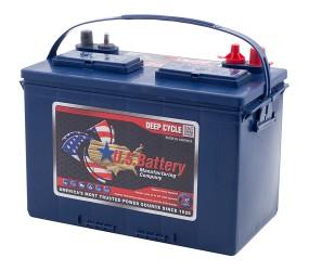 WET аккумулятор US Battery: 12В-90А/ч (С5)