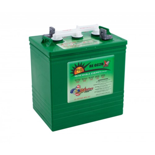 WET аккумулятор US Battery: 6В-193А/ч (С5)
