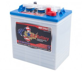 WET аккумулятор US Battery: 6В-216А/ч (С5)