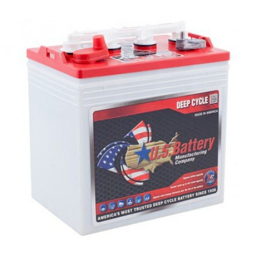 WET аккумулятор US Battery: 8В-138А/ч (С5)