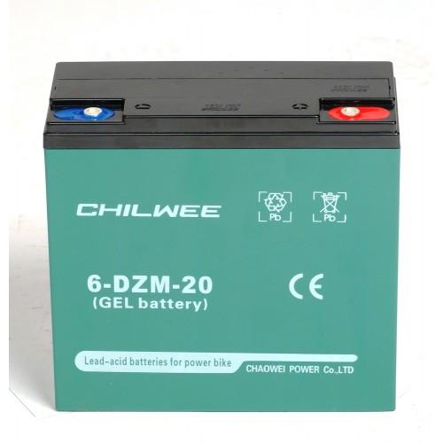 GEL аккумулятор CHILWEE: 12В-24А/ч (С5)