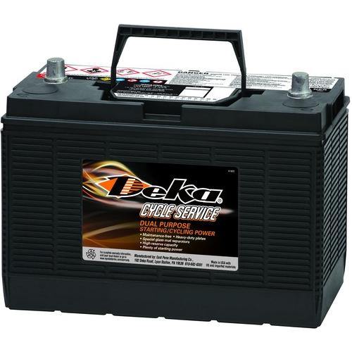 WET аккумулятор DEKA: 12В-105А/ч (С5)