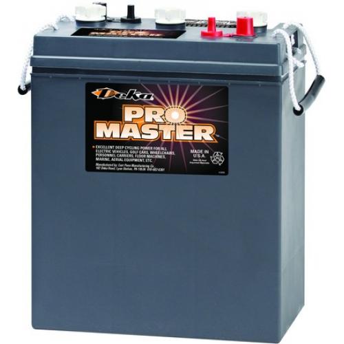 WET аккумулятор DEKA: 6В-271А/ч (С5)