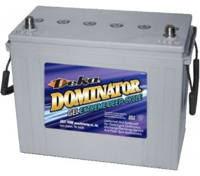 GEL аккумулятор DEKA: 12В-110А/ч (С5)