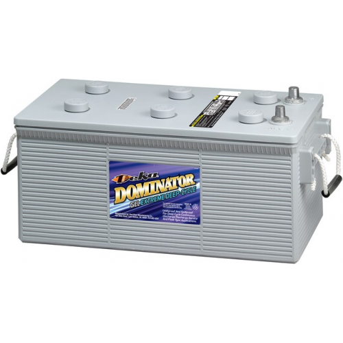GEL аккумулятор DEKA: 12В-198А/ч (С5)