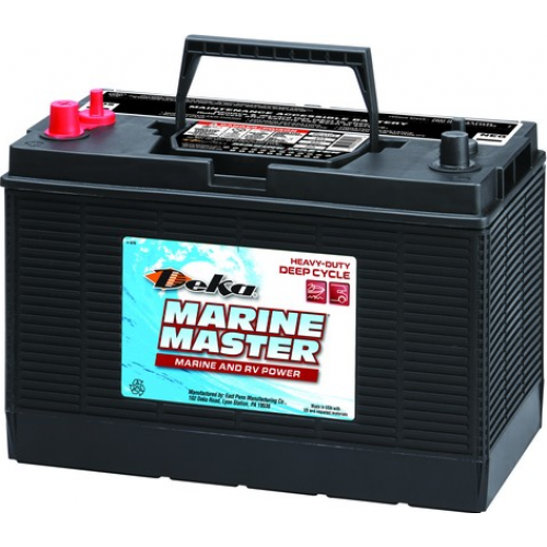 WET аккумулятор DEKA: 12В-98А/ч (С5)
