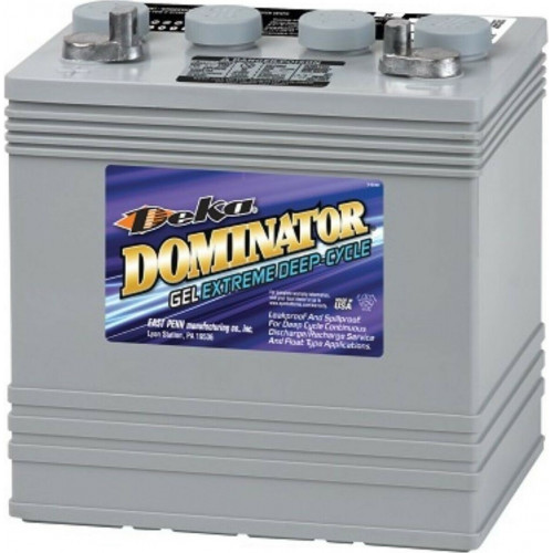 GEL аккумулятор DEKA: 8В-114А/ч (С5)
